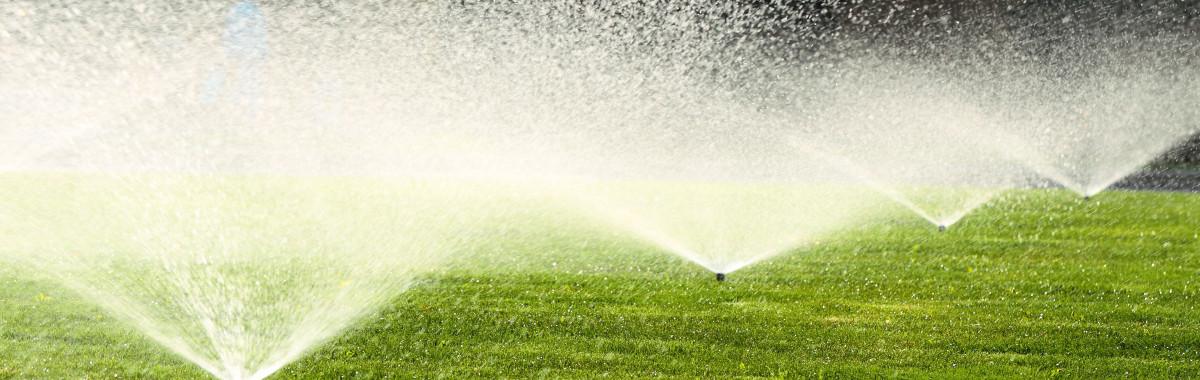 Sprinklers in a row